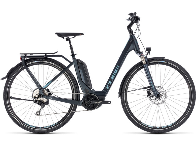 Cube Touring Hybrid Pro 400 Easy Entry Darknavy'n'Blue